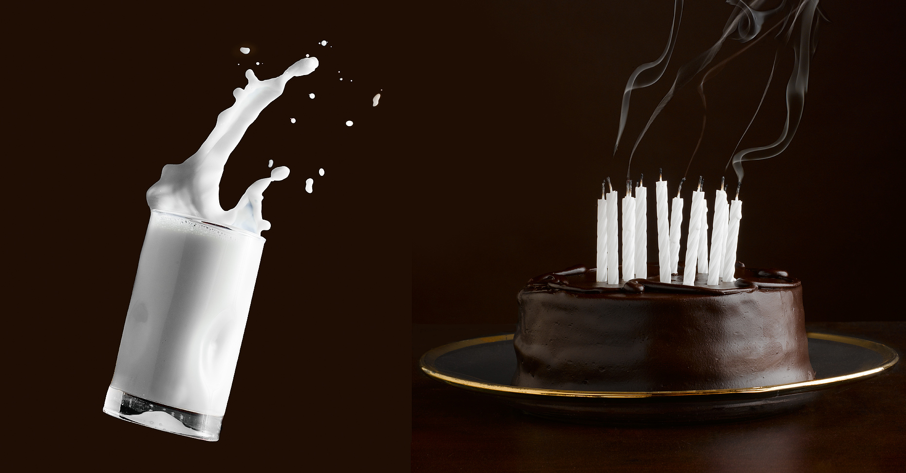 Baking- Milk- Birthday cake- Best food photography.