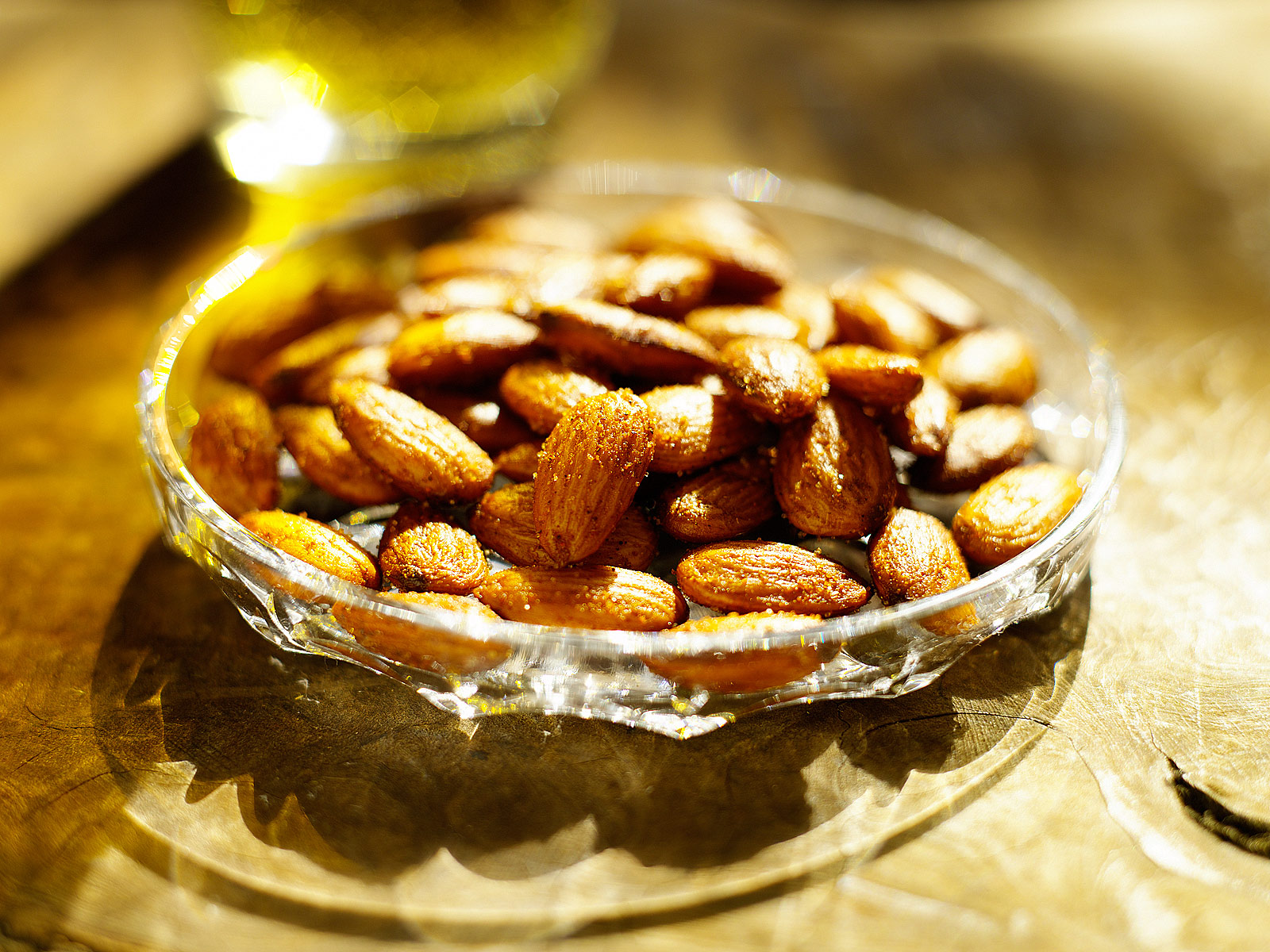 Almonds- Salted Almonds- Best food photography