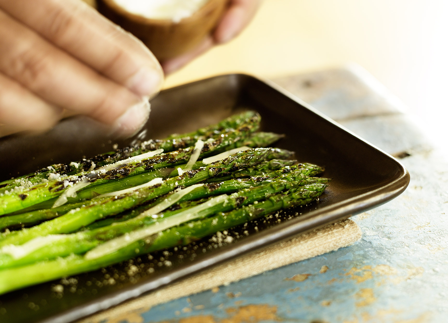 Grilled asparagus- best asparagus- Best food photography