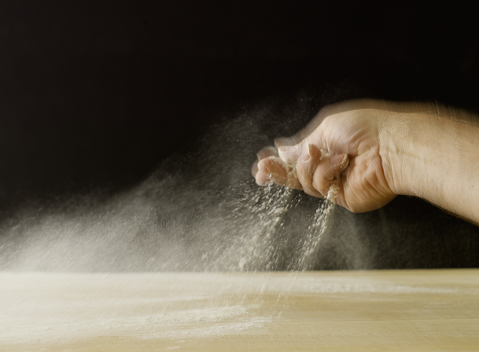 Getting ready to knead dough- Best food photography