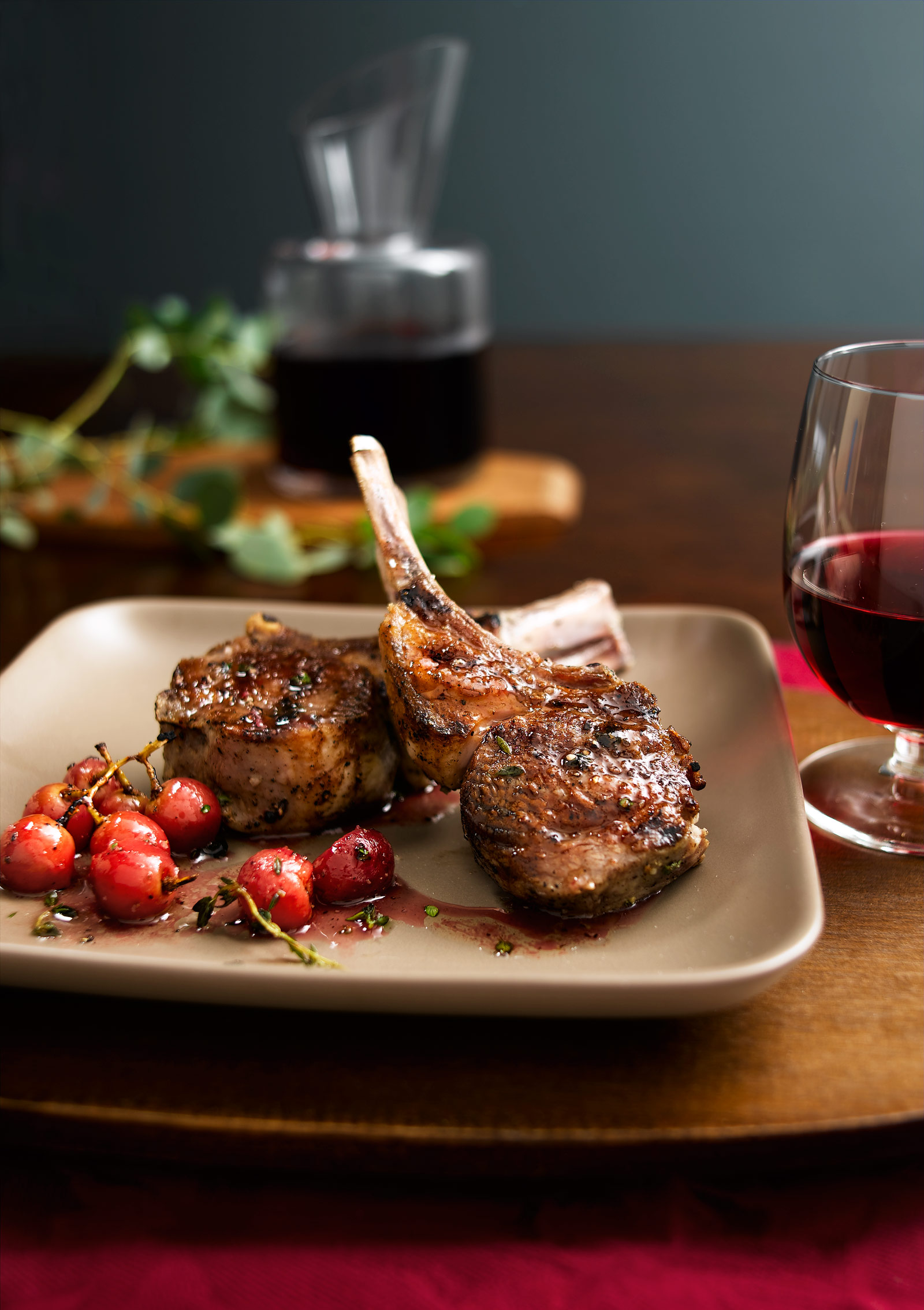 Lamb chops- Grilled lamb- Best food photography