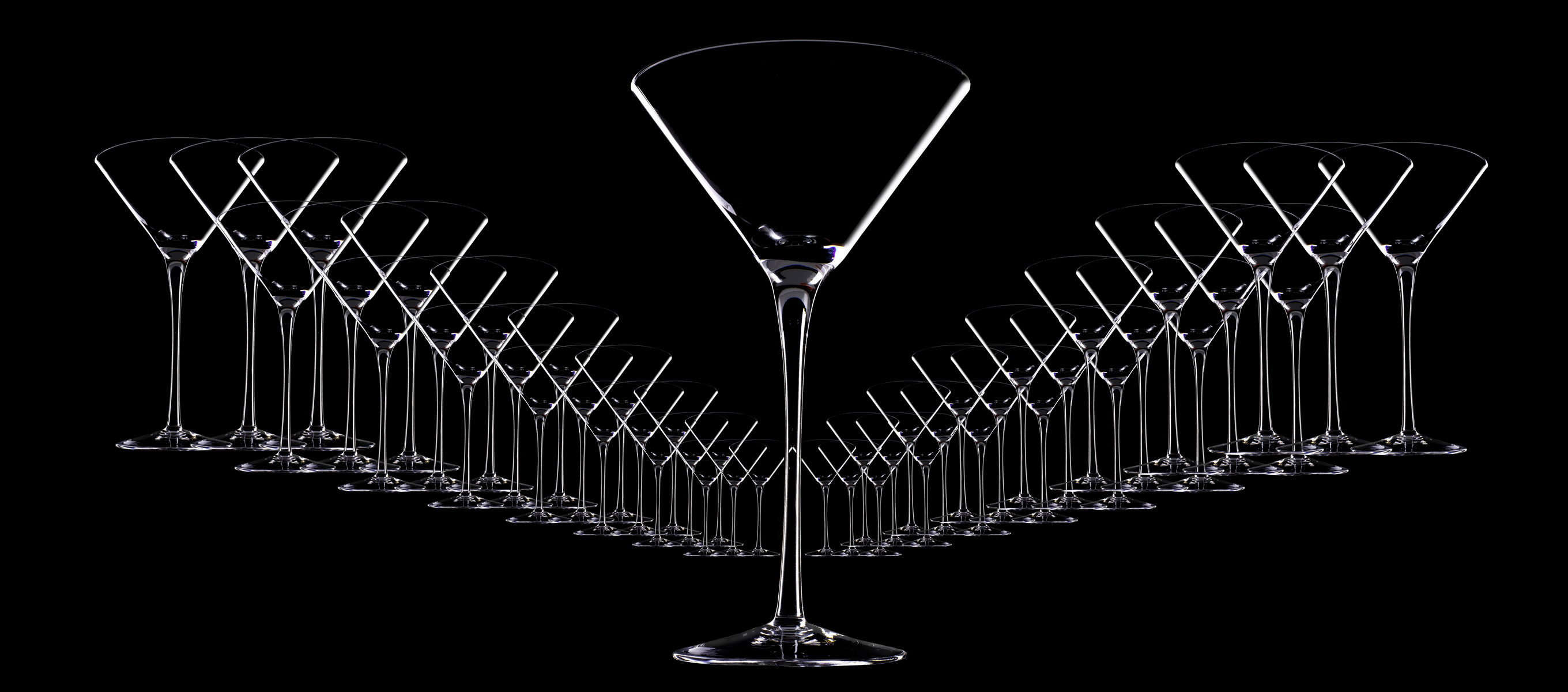 Martini glasses_ Got gin?-  Henrique Du Tiel