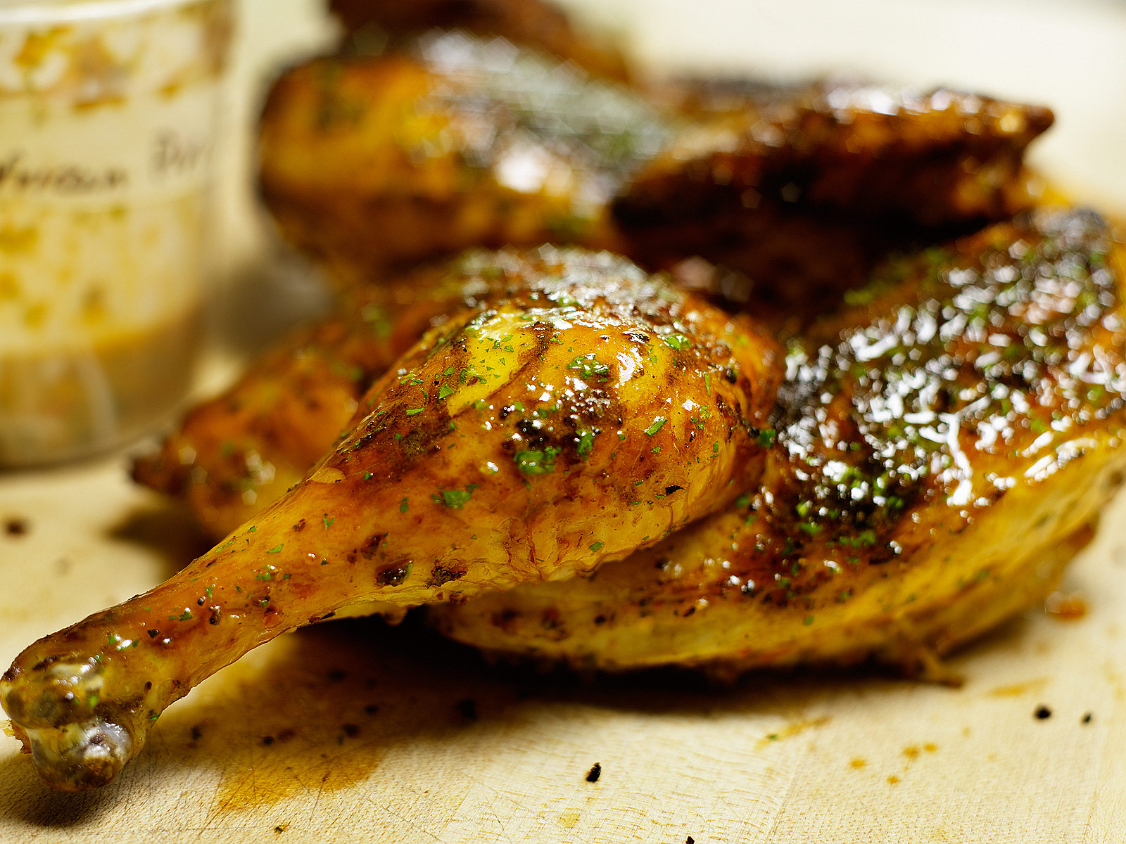 Piri piri chicken_ Rotisserie Chicken- Best food photography