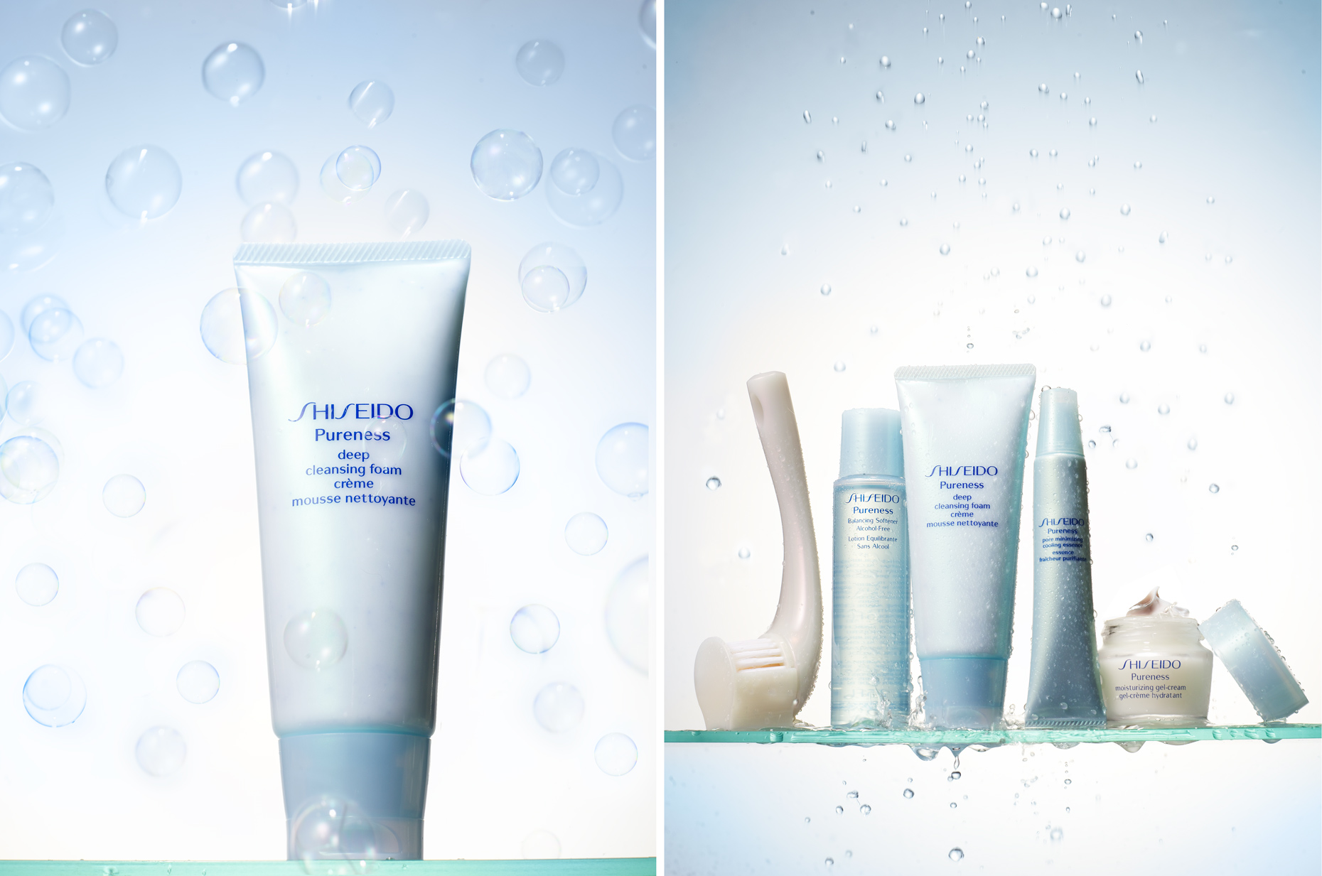 Shiseido- bubbles-  Shiseido products- Henrique Du Tiel